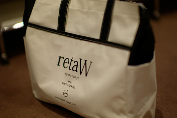 fragment design x retaW Tote Bag