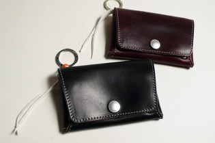 Gallery 1950 SOLID Horween Leather Card Case / Bangle