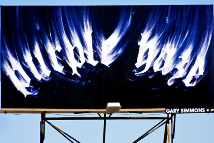 Gary Simmons x Undefeated Billboard Project