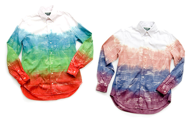 Gitman Brothers for Opening Ceremony Tokyo Dyed Shirts