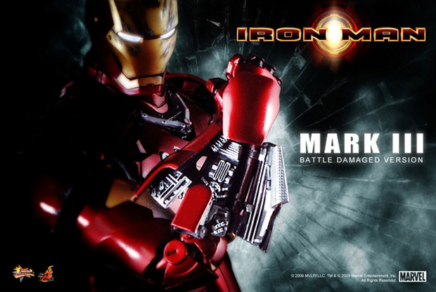 Iron Man Mark III Battle Damaged Version by Hot Toys