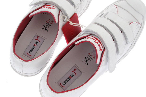 "Ian Ginoza x Converse 1HUND(RED) Jack Purcell ""Epi Leather"""