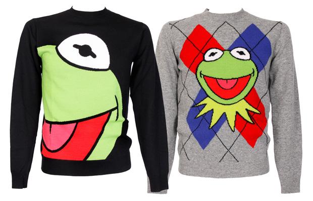 Jean Charles de Castelbajac Kermit Knit Sweaters