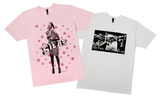 Keetja Allard x Silas T-shirt Collection