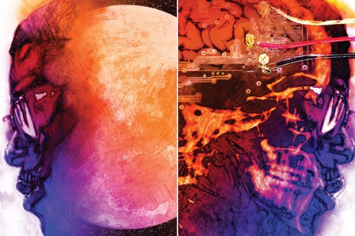 Kid Cudi | Man on the Moon: The End of Day Album Cover Art
