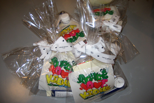 Kiehls x KAWS Gift Bags for Opening Ceremony