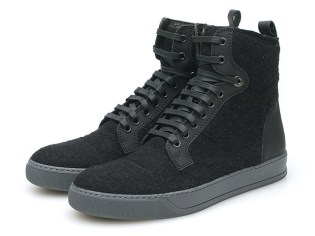 "Lanvin High-Top Trainer ""Jersey"""