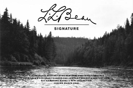L.L. Bean Signature