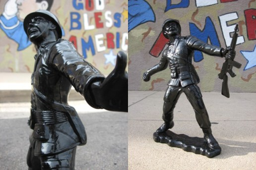 Lulubell Toys x Frank Kozik Ultraviolence Big Army Man Vinyl