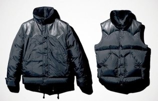 RonHerman x mastermind Japan Down Jacket & Vest