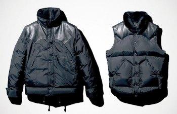 RonHerman x mastermind Japan Down Jacket & Vest