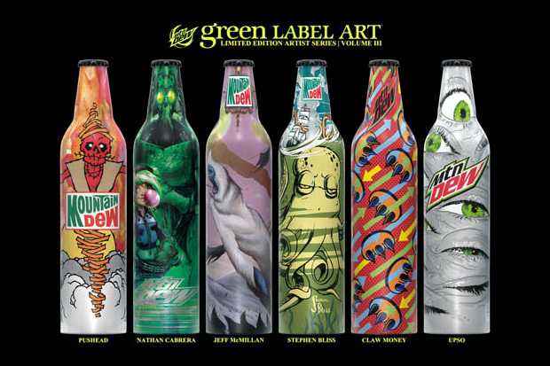 Mountain Dew Green Label Art Volume 3