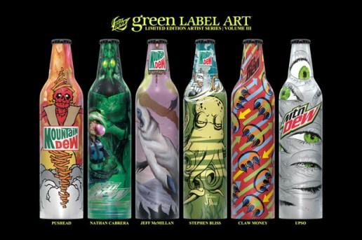 Mountain Dew Green Label Art Volume 3