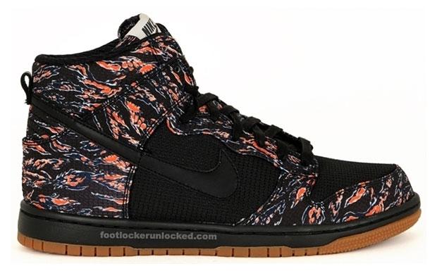 Nike Dunk High Black/Sail