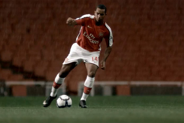 "Nike Football ""Fast is Never Enough"" with Theo Walcott"