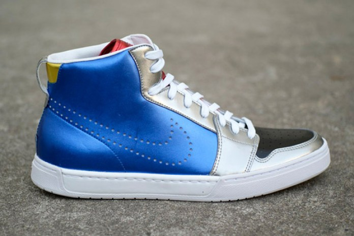 Nike Royal Mid Multi-Color Metallic Sneaker