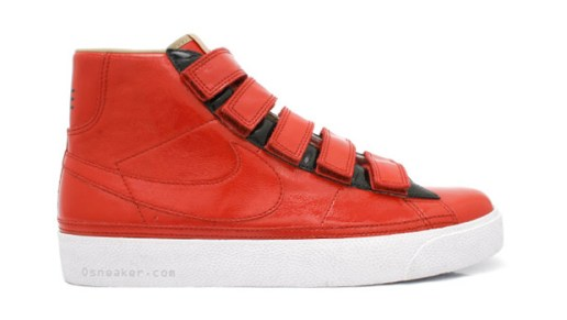 Nike Sportswear Blazer AC High LE Red Velcro