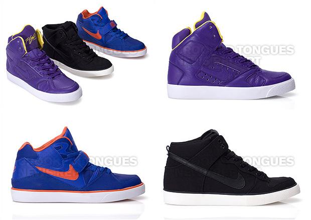Nike Sportswear Vulcanized Dunk / Flight Lite / Force 180