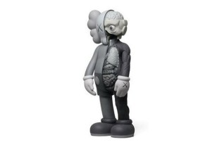 OriginalFake KAWS 4 Foot Dissected Gray Companion