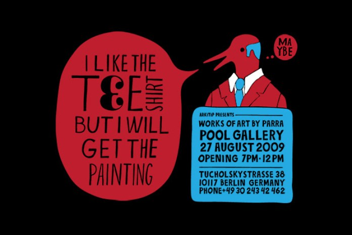 Parra @ Pool Gallery & Wood Wood Berlin
