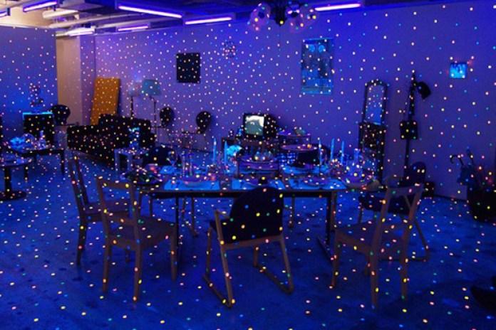 Propagating Room Installation by Yayoi Kusama