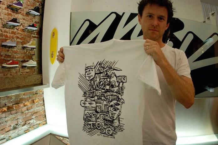 Randy Laybourne x Livestock Artist Series T-shirt Preview