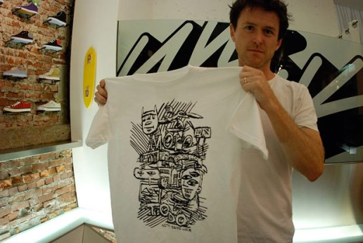 Randy Laybourne x Livestock Artist Series T-shirt Preview