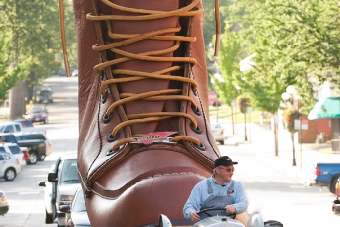 Red Wing Shoes World's Largest Boot