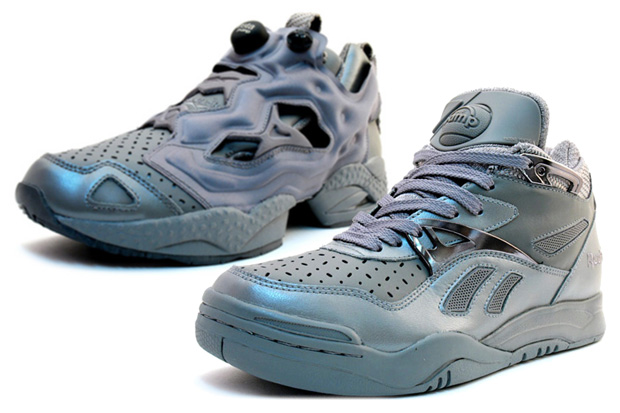 """Reebok Pump """"Perfectly"""" Gray Collection: Pump Fury / Omni Lite / Court Victory II"""