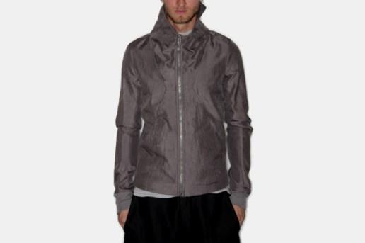 Rick Owens Silk Collar Bomber Jacket