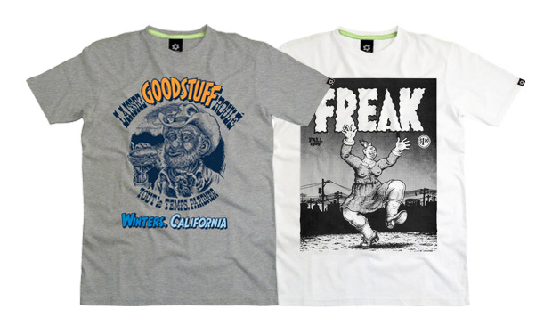 Robert Crumb for Sixpack France T-Shirts