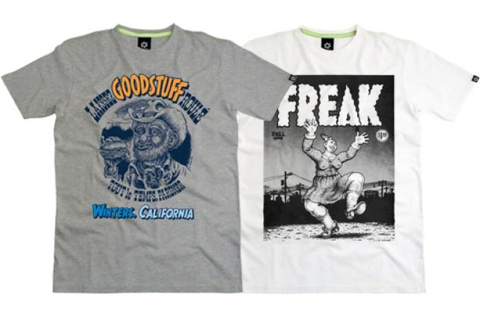 Robert Crumb for Sixpack France T-Shirts