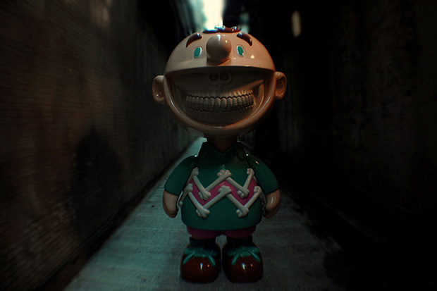 Ron English x Garageworks Industries 1:1 Grin