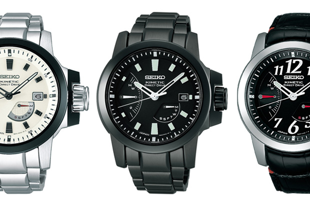 SEIKO BRIGHTZ PHOENIX KINETIC DIRECT DRIVE Watch