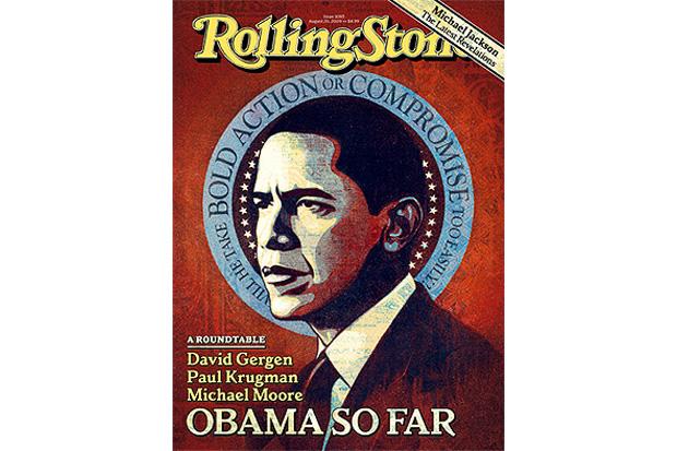 Shepherd Fairey for Rolling Stone