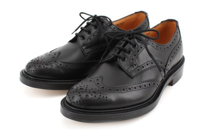 SHIPS JET BLUE x Tricker's Wingtip Brogue
