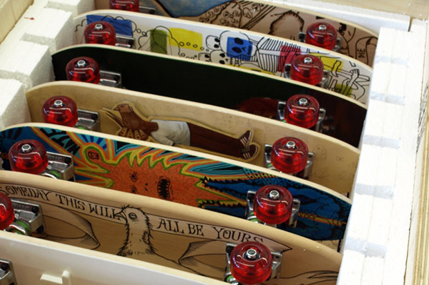 """Smile On Your Brother"" Skateboard Art Exhibition"