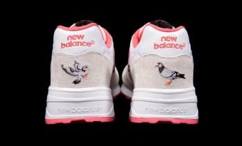Staple x New Balance 575 White Pigeon - A Closer Look