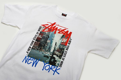 "Stussy NYC Opening ""Crew"" T-shirt"