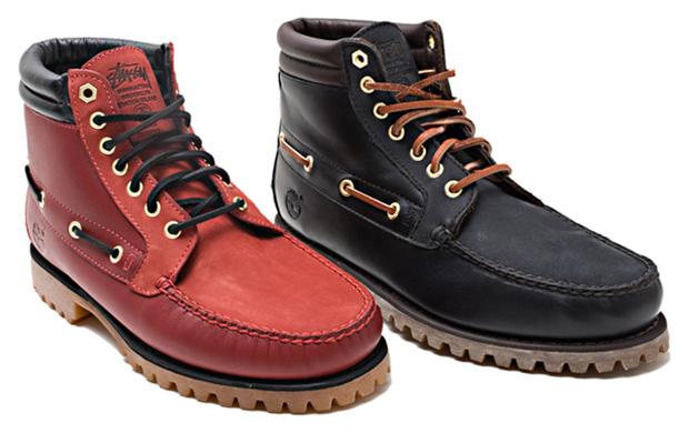 Stussy NYC x Timberland 7-Hole Boot