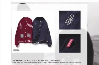 Supreme x WTAPS Award Reversible Jacket
