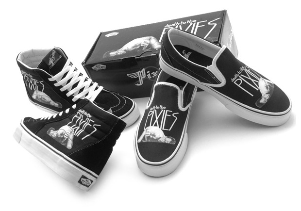 The Pixies x Vans Band Series SK8-HI & Slip-On