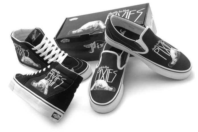 The Pixies x Vans Band Series SK8-HI & Slip-On