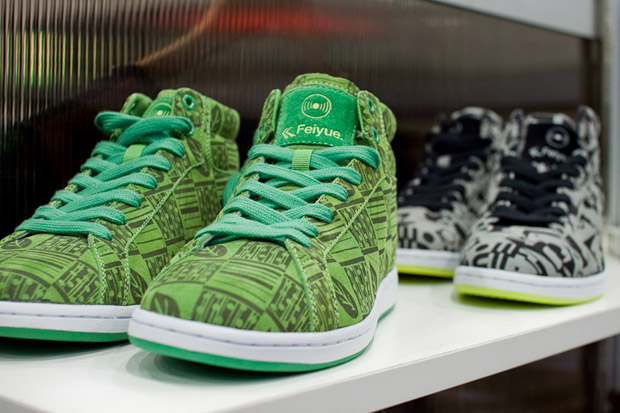 Ubiquity Records x Feiyue High Top Sneakers