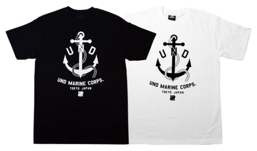 "Undefeated Tokyo Renewal ""Marine Corps"" T-shirt"
