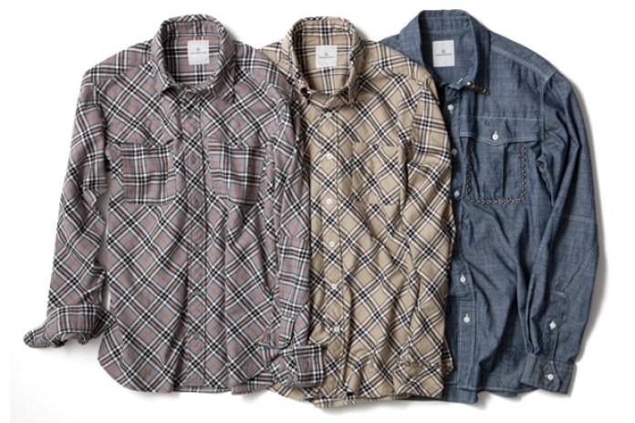 uniform experiment Cotton Flannel Check Shirts