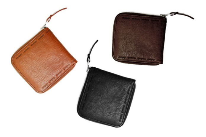 VISVIM 2009 Fall/Winter Veggie Tanned Leather Wallets