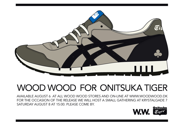 Wood Wood x Onitsuka Tiger X-Caliber GT Release Details