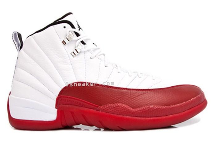 Air Jordan 12 White/Red