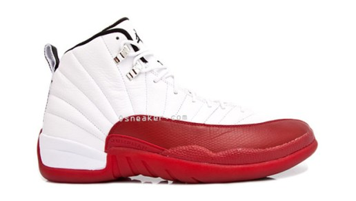 Air Jordan 12 White/Red